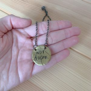 Jewelry - Game of Thrones Not Today Pendant Necklace